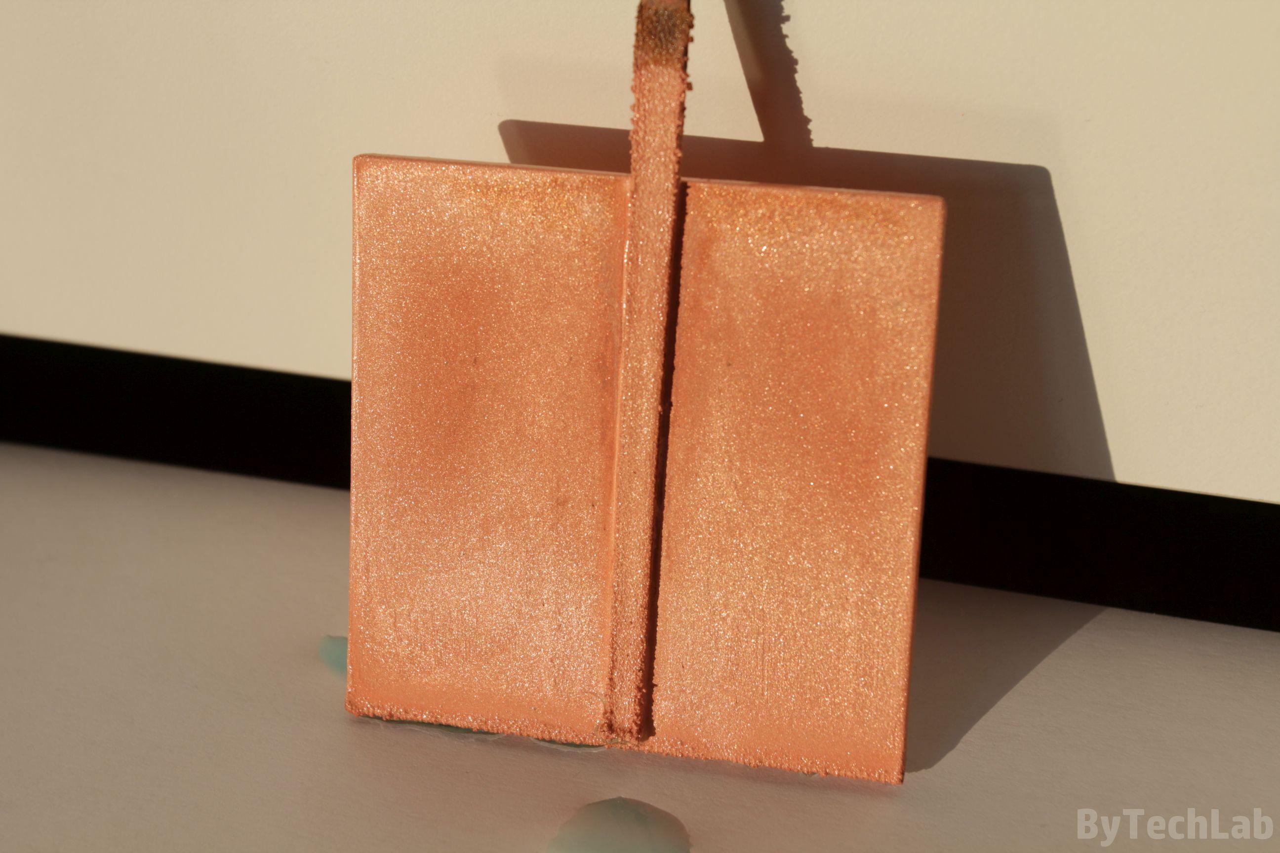 Copper plating 3D prints - ByTechLab
