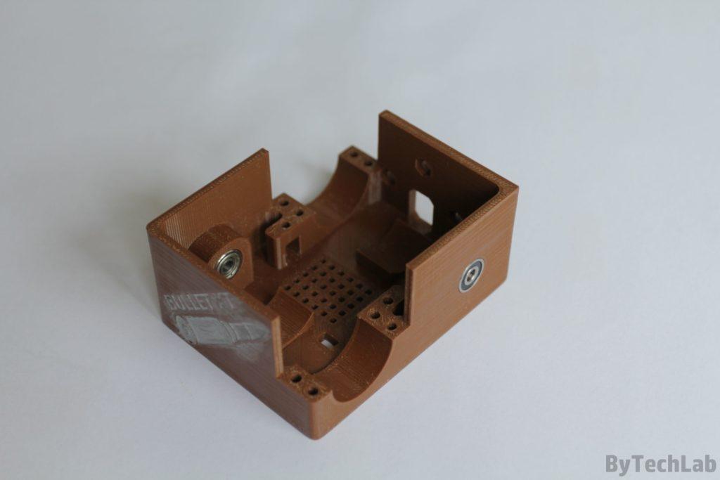 Minisumo BULLET XT - Rama wydrukowana w 3D
