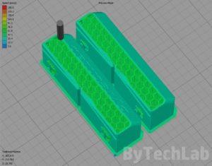 PCB Vise - Slicing 3D model