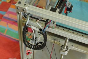 RAPTOR XLS 360 3D printer - Cable routing 2