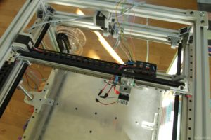 RAPTOR XLS 360 3D printer - Cable routing