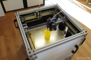 RAPTOR XLS 360 3D printer - Finished - view from the top