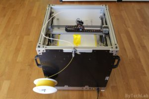 RAPTOR XLS 360 3D printer - Finished - rear view