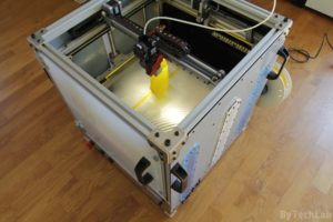 RAPTOR XLS 360 3D printer - Finished - side view 4