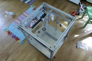 RAPTOR XLS 360 3D printer - Frame assembly 4