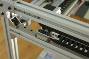 RAPTOR XLS 360 3D printer - Y axis cable chain assembly