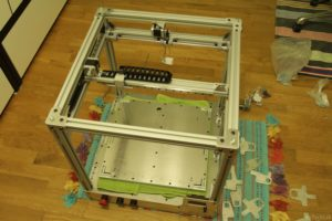 RAPTOR XLS 360 3D printer - Z axis platform assembly 3