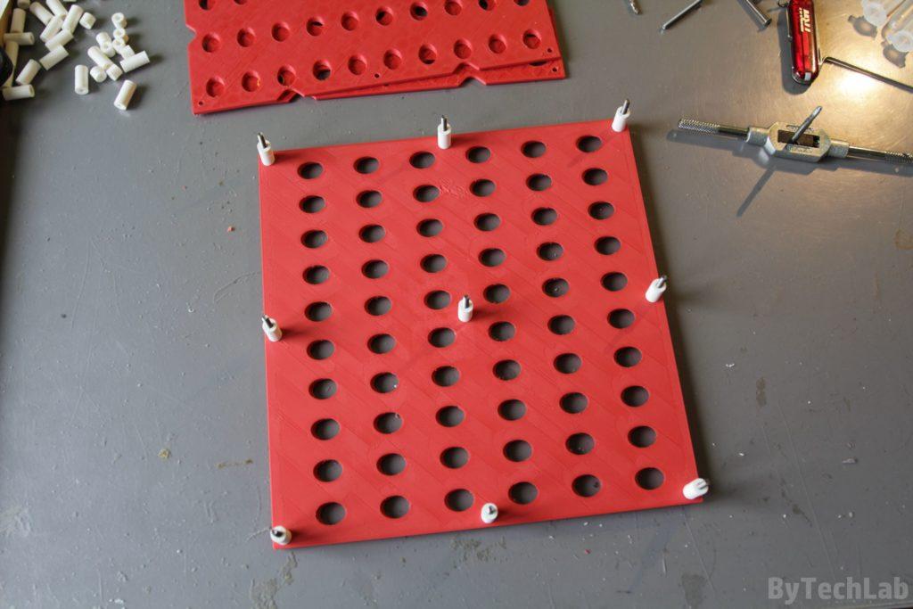 SMD parts organiser - Assembling