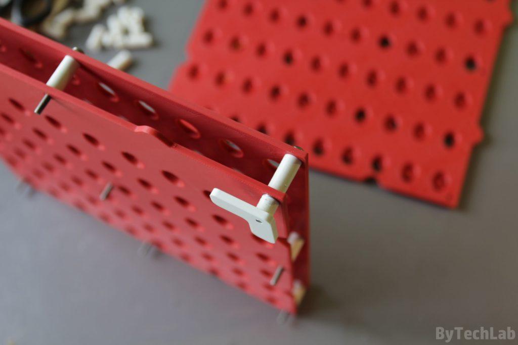 SMD parts organiser - Assembling 2