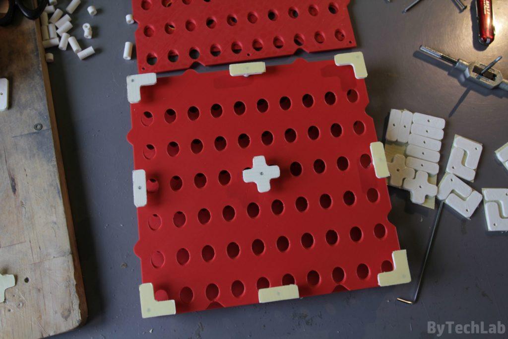 SMD parts organiser - Assembling 3