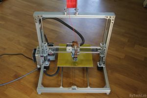 T REX 300 3D printer - Front view 2