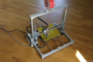 T REX 300 3D printer - Front view