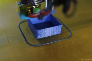T REX 300 3D printer - Printing calibration cube