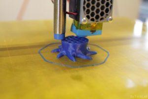 T REX 300 3D printer - Printing octo