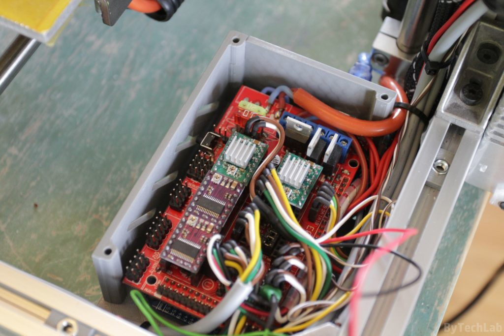T REX 300 3D printer - Ramps cable management