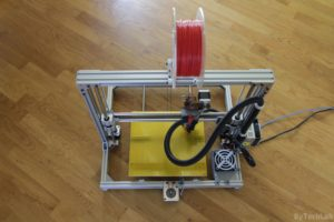 T REX 300 3D printer - Rear view 2