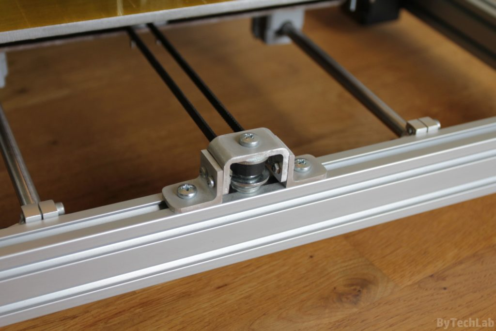 T REX 300 3D printer - Y axis belt idler (2 flange bearings)