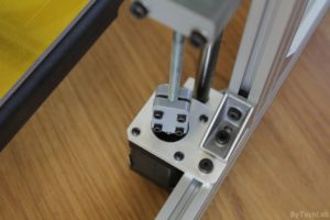 T REX 300 3D printer - Z axis stepper motor mount 2