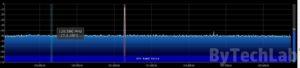 Discone antenna - SDRSharp Air Band spectrum
