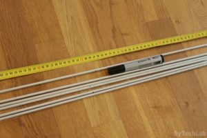 Discone antenna - Cutting aluminium rods to size