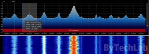 Discone antenna - SDRSharp FM Broadcast spectrum