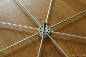 Discone antenna - Top disc finished 2