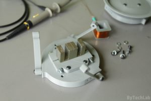 SMD parts bowl feeder prototype - Base plate assembly