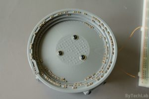 SMD parts bowl feeder prototype - Test with the capacitors 2