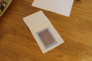 An LED you can blow out like a candle - Applying photoresist film 5