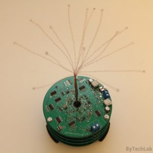 LED Tree - Finished - top view
