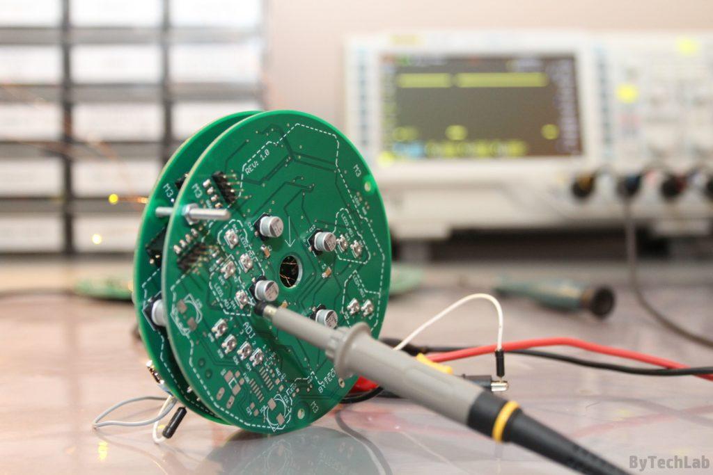LED Tree - Potentiometers adjustment
