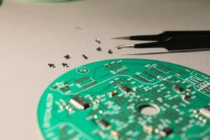 LED Tree - Soldering components on a PCB 2