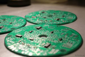 LED Tree - Soldering components on a PCB