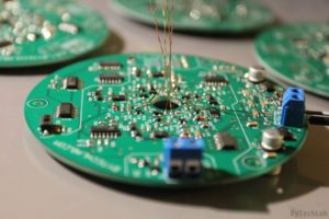 LED Tree - Soldering components on a PCB 4