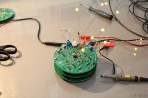 LED Tree - Tests and minor adjustments
