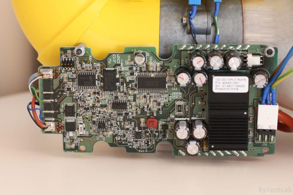 Air filtering unit & pressure suit (COVID-19) - Motor driver PCB 2